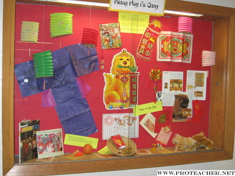 Bulletin Board Ideas For New Year Photograph | Chinese New Y